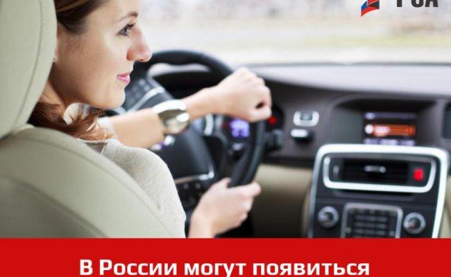 В России могут появиться электронные водительские права